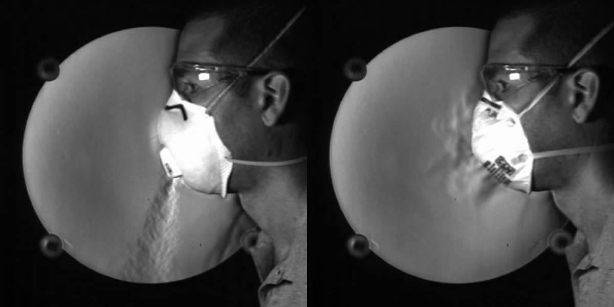 Alerta: las máscaras con válvulas no evitan la difusión del coronavirus