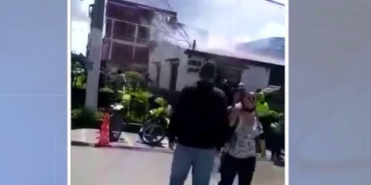 Procuraduría inicia investigación por incendio en estación de Policía donde murieron 9 jóvenes
