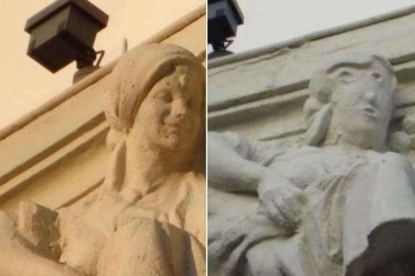 """¿Un nuevo """"Ecce Homo""""? Polémica en España tras fallida restauración a escultura"""