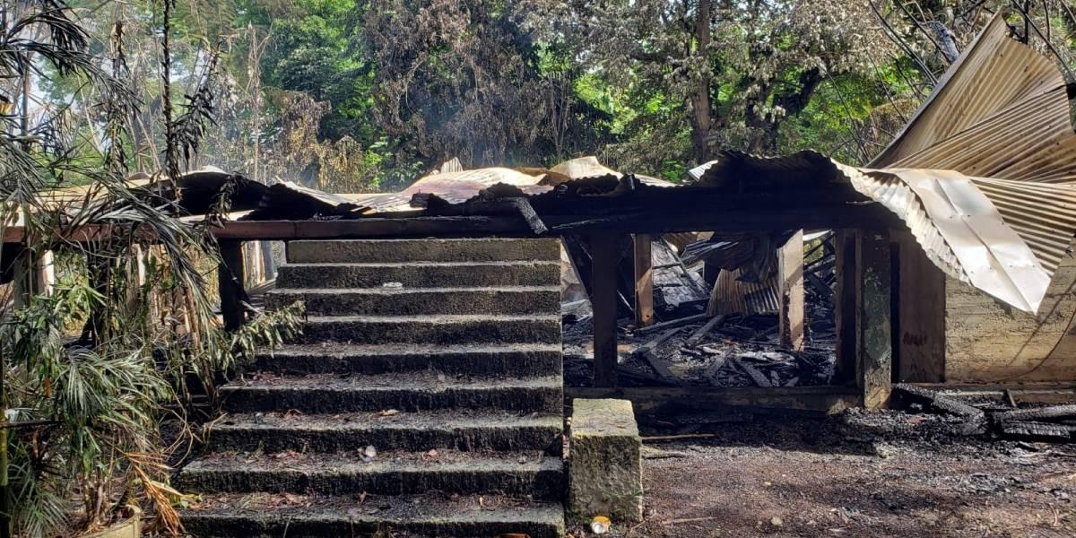 Golpe al patrimonio arquitectónico el incendio de la Casa Klumb