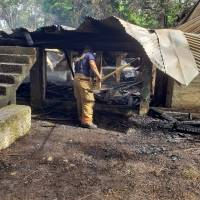 Fotogalería: Así quedó tras incendio la casa Klumb