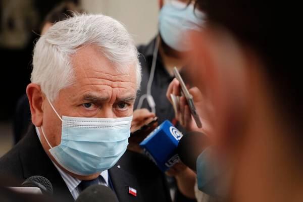 """La molestia del ministro de Salud: """"Los gremios fueron a reunión con el paro bajo la manga"""""""