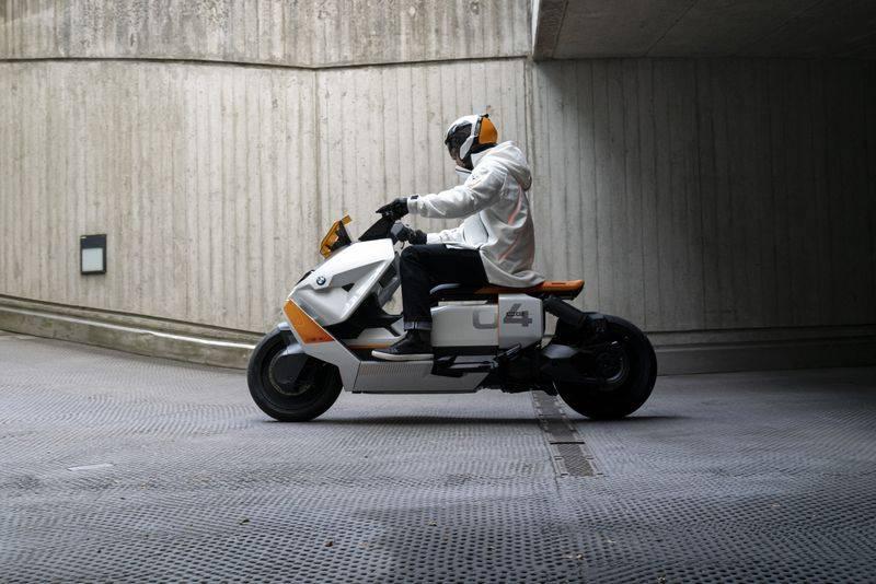 El scooter eléctrico de BMW.