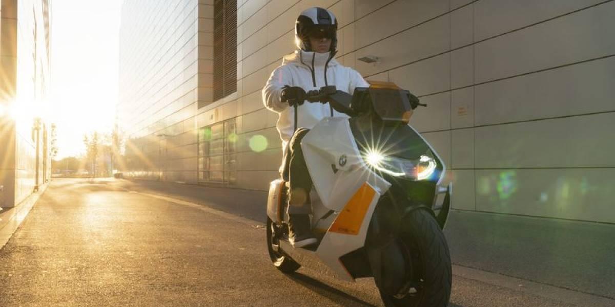 BMW y su genial scooter eléctrico, el Motorrad Definition CE 04