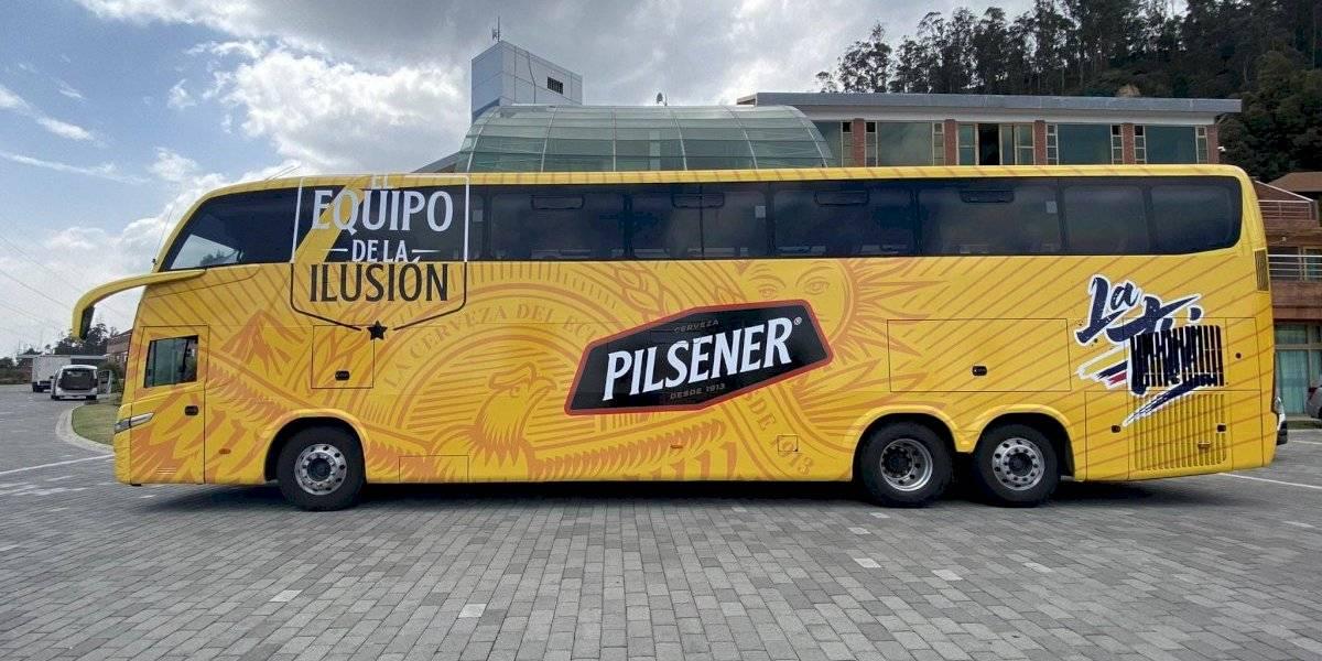 Selección de Ecuador: se presentó el nuevo transporte que usará la tricolor en las Eliminatorias