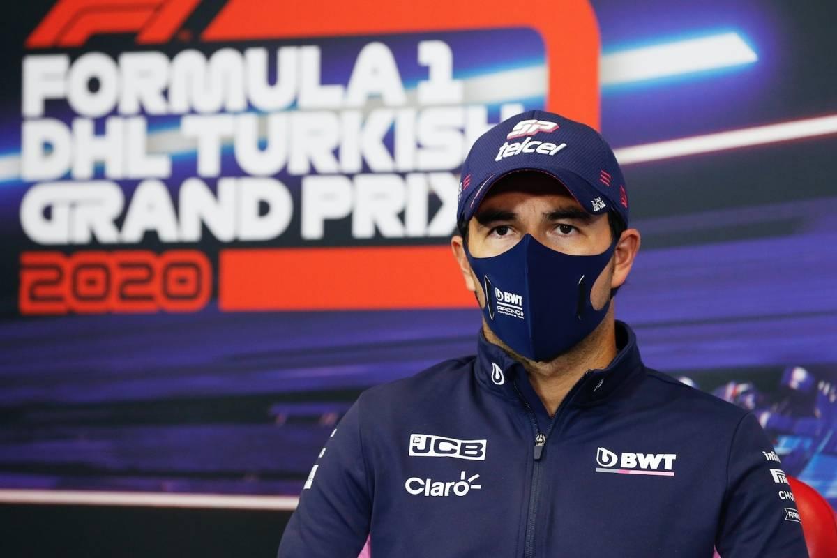 Checo Pérez explica por qué no obtuvo la pole position en Turquía y se mostró contento por salir tercero