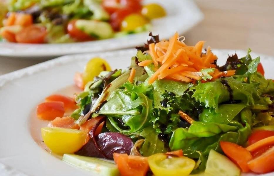 En tu dieta puedes incluir más verduras como tomates, pimientos o cebolla.