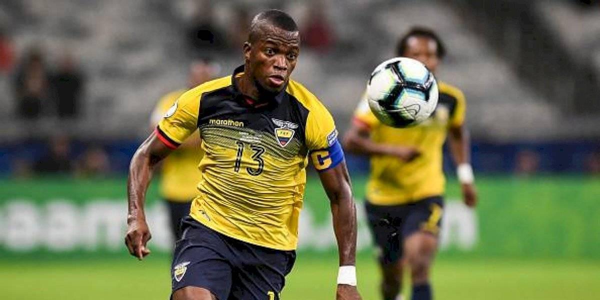Enner Valencia dio positivo para COVID-19 y se pierde el partido ante Colombia