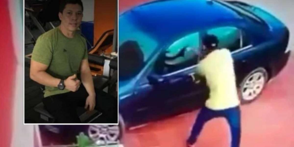 Delante de sus hijos, asesinaron a comerciante por robarle 20 millones de pesos