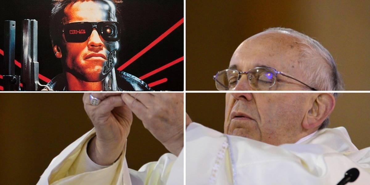 """Papa Francisco pide que recemos para que robots siempre """"sirvan a la humanidad"""""""