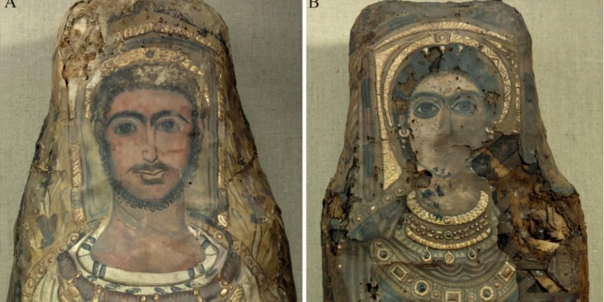 Fotos: descubren que momia egipcia aún conserva el cerebro y otros órganos