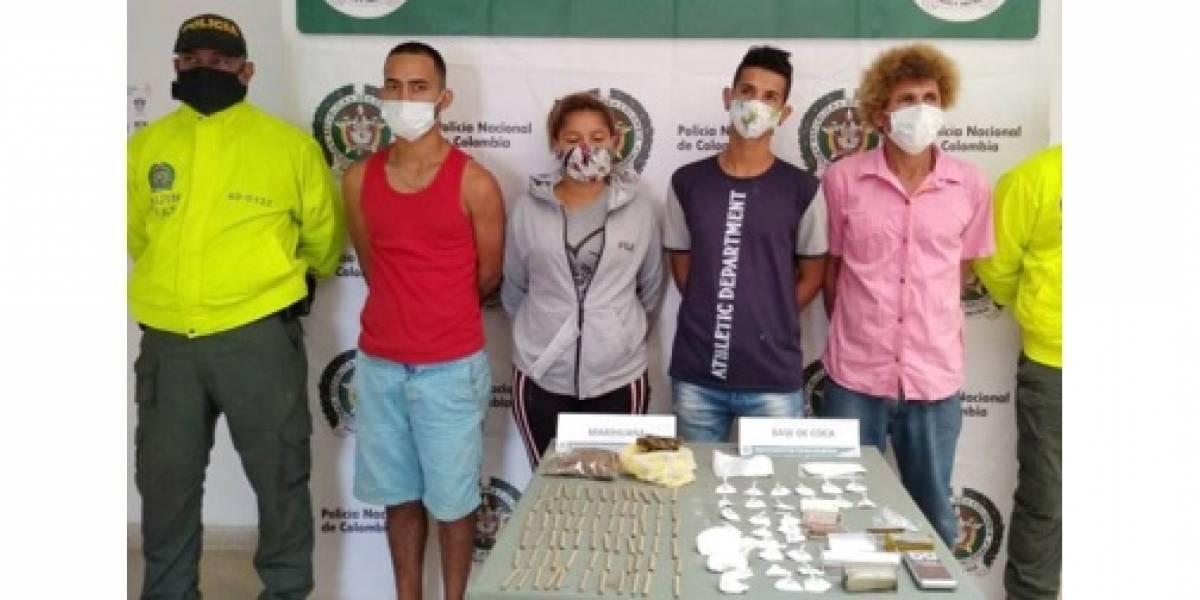 En medio de las peleas de gallos autoridades desmantelaron narco-gallera