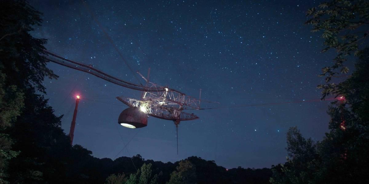 """Piden fondos a Cámara y Senado federal para """"estabilizar"""" el telescopio de Arecibo"""