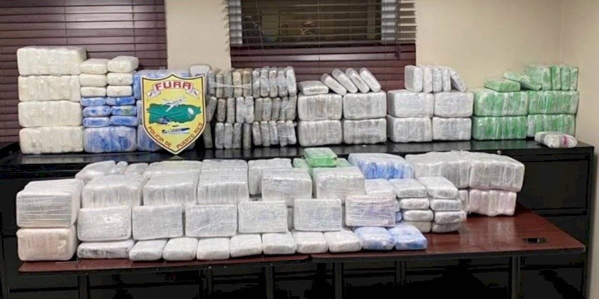 Autoridades incautan 418 kilos de cocaína en aguas de Cabo Rojo