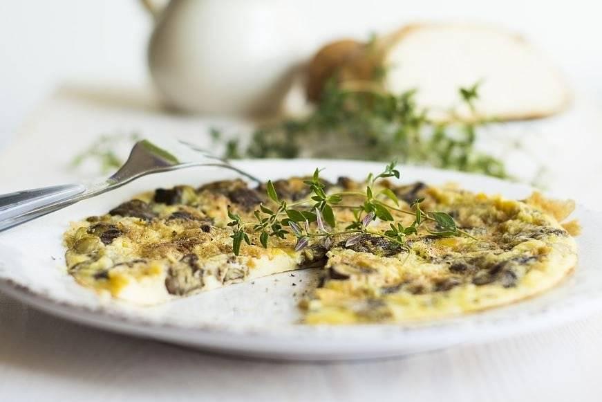 Las tortillas con verduras y hortalizas son ideales para las personas que quieren mantenerse en forma.