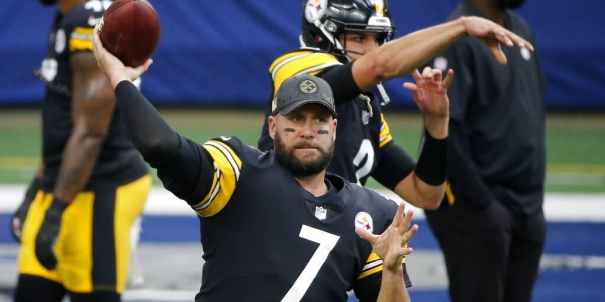 Steelers esperan que el 'Big Ben' juegue ante los Bengals