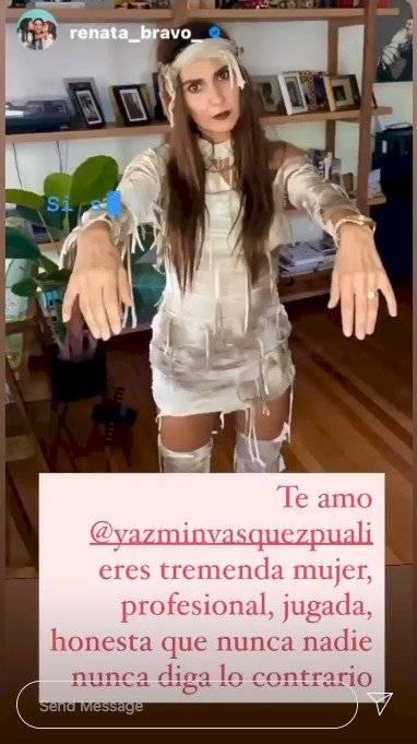 Renata Bravo tras renuncia de Yazmín Vásquez