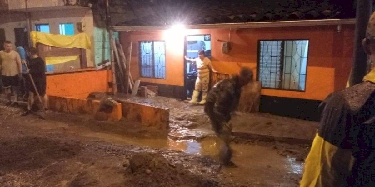 Emergencias en Antioquia por las fuertes lluvias que se han registrado en las últimas horas