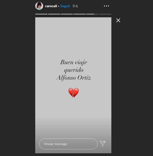 Alfonso Ortiz mensaje