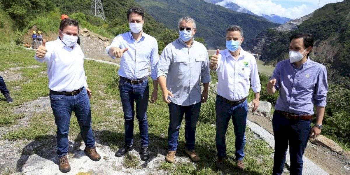 Iván Duque anunció que el proyecto Hidroituango generará energía en el 2022
