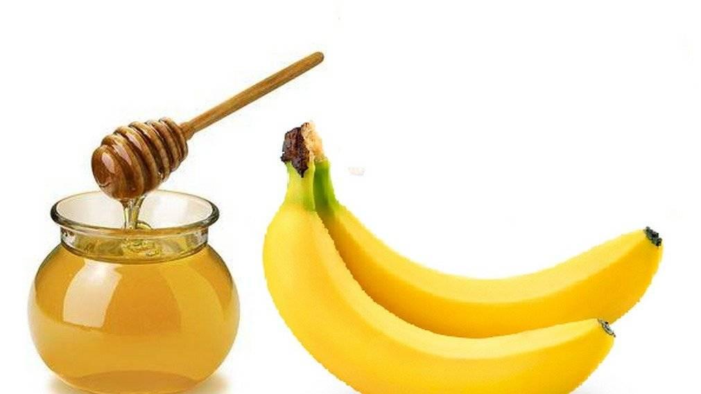 Banana y miel