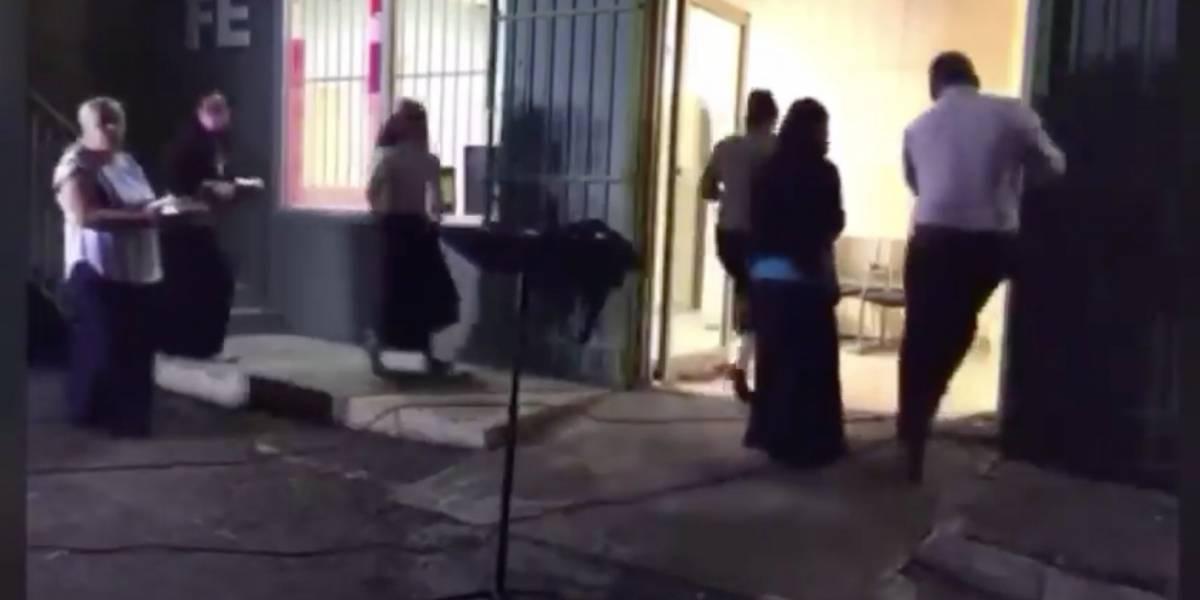 Captan balacera en video durante culto religioso en Toa Alta