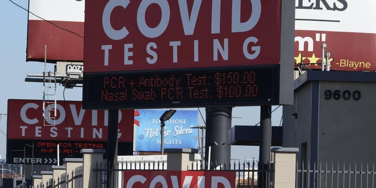 Nuevo récord de pruebas de COVID-19 que dan positivo en Estados Unidos