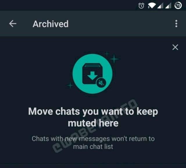 Ahora podremos archivar los mensajes sin que vuelvan a aparecer hasta que lo deseemos.