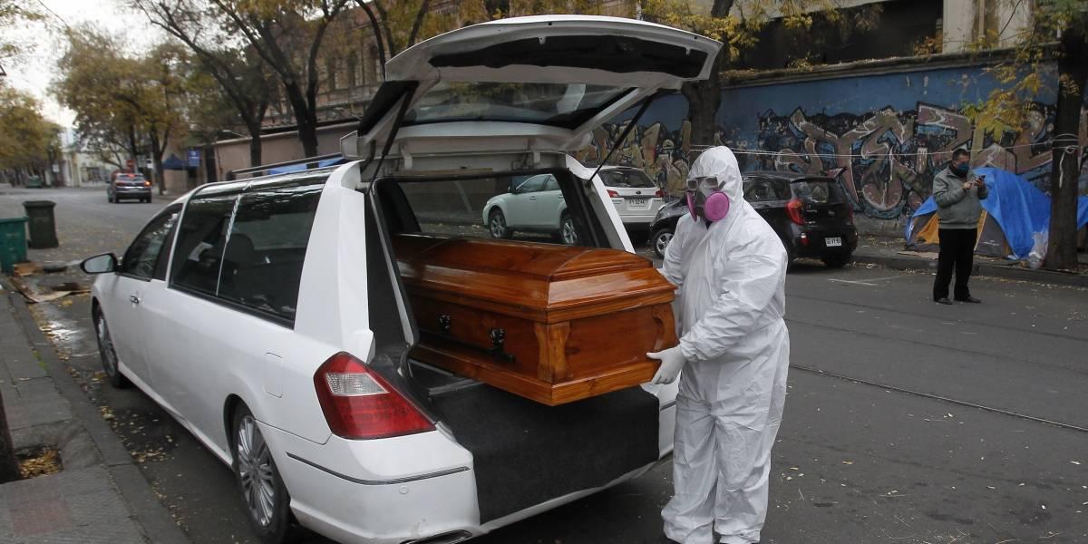 Chile alcanza las 19.782 muertes por covid-19, entre confirmadas y sospechosas