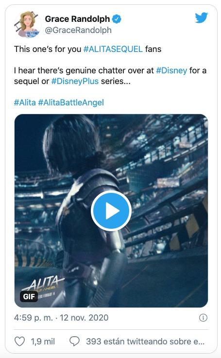 Disney Plus Alita Battle Angel