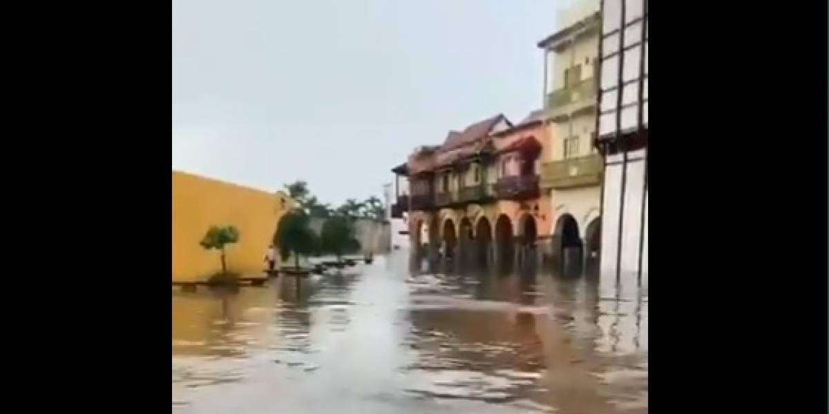 Alcaldía de Cartagena lanza un SOS: setenta por ciento de la ciudad bajo el agua