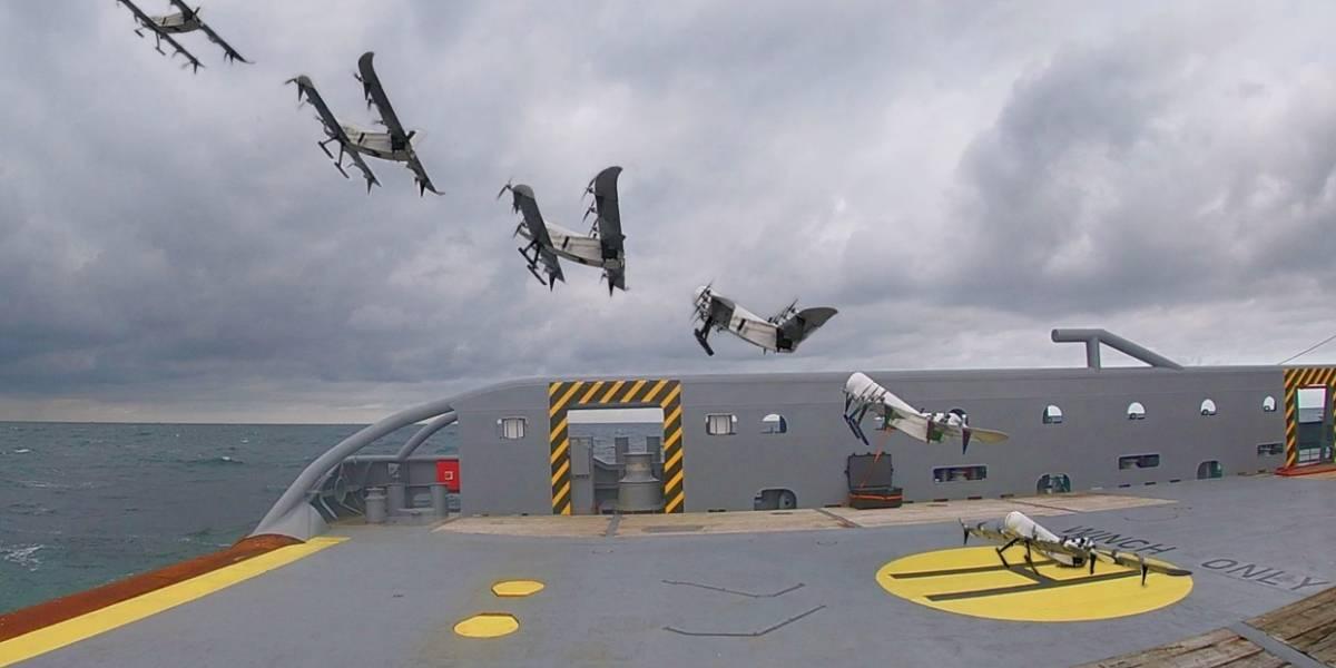 """Holandeses crean el dron """"más versátil del mundo"""", que vuela con hidrógeno"""
