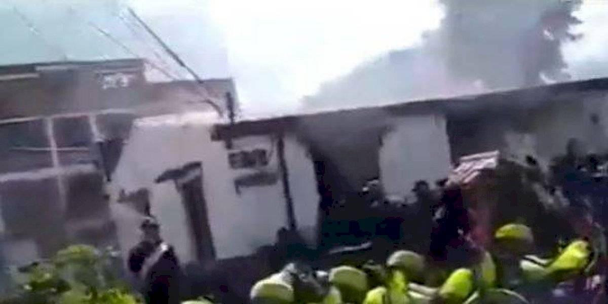 Se conocieron los detalles de cómo inició incendio en el CAI San Mateo en el que murieron 8 detenidos