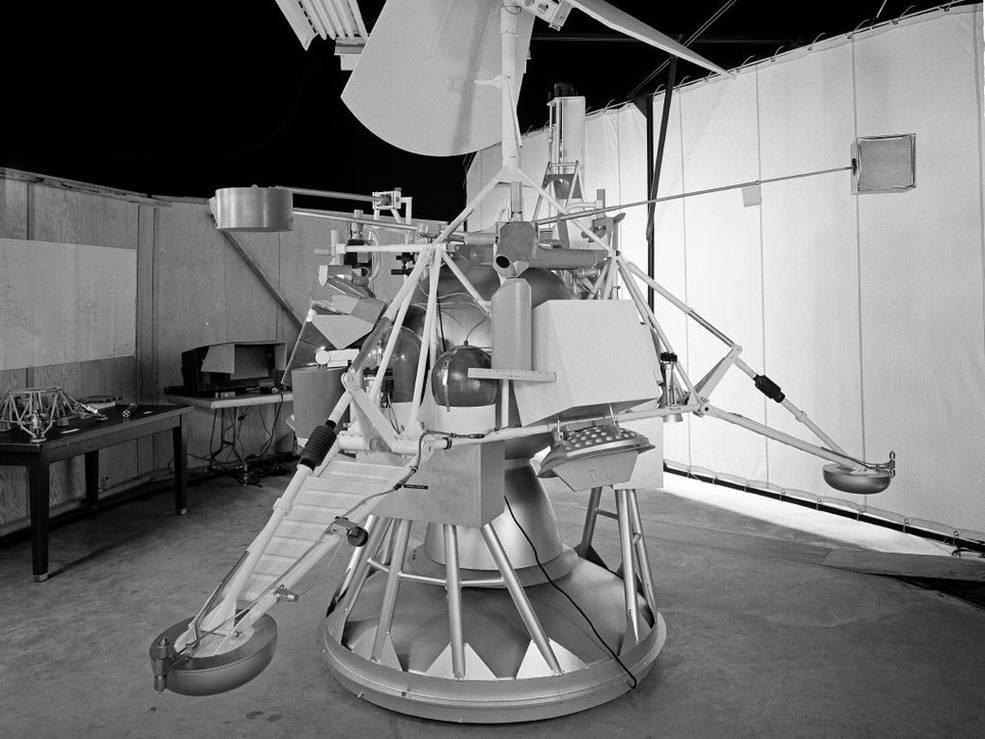 El lander Surveyor, cuyo control perdió la NASA.