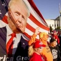 Violenta protesta a favor de Trump deja heridos y detenidos