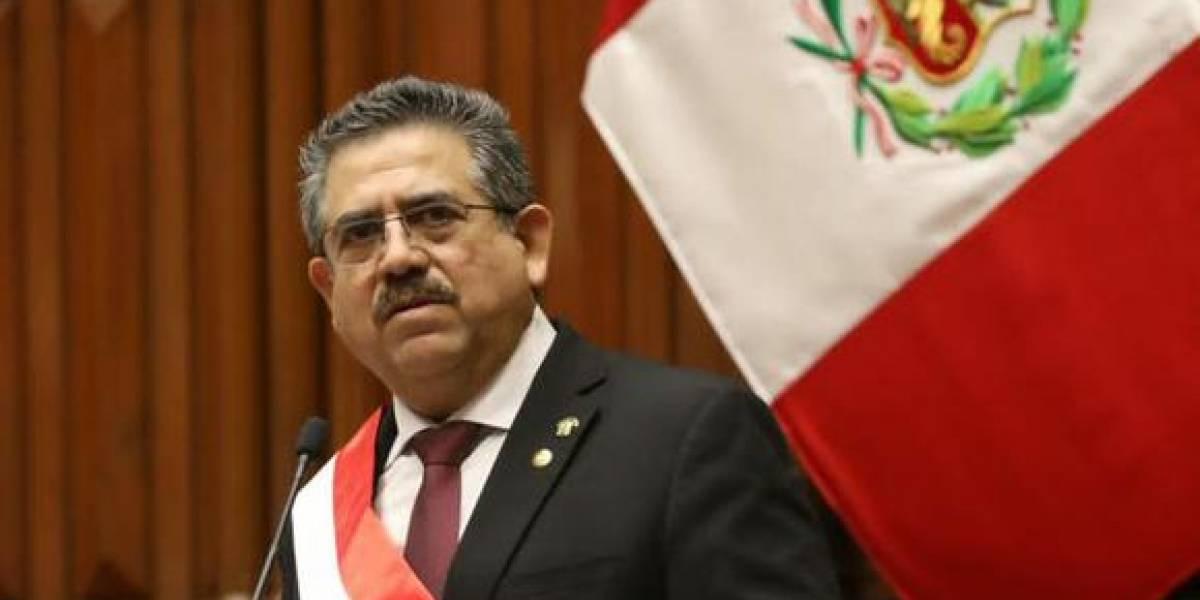 Presidente de Perú, Manuel Merino, renuncia tras menos de una semana en el poder
