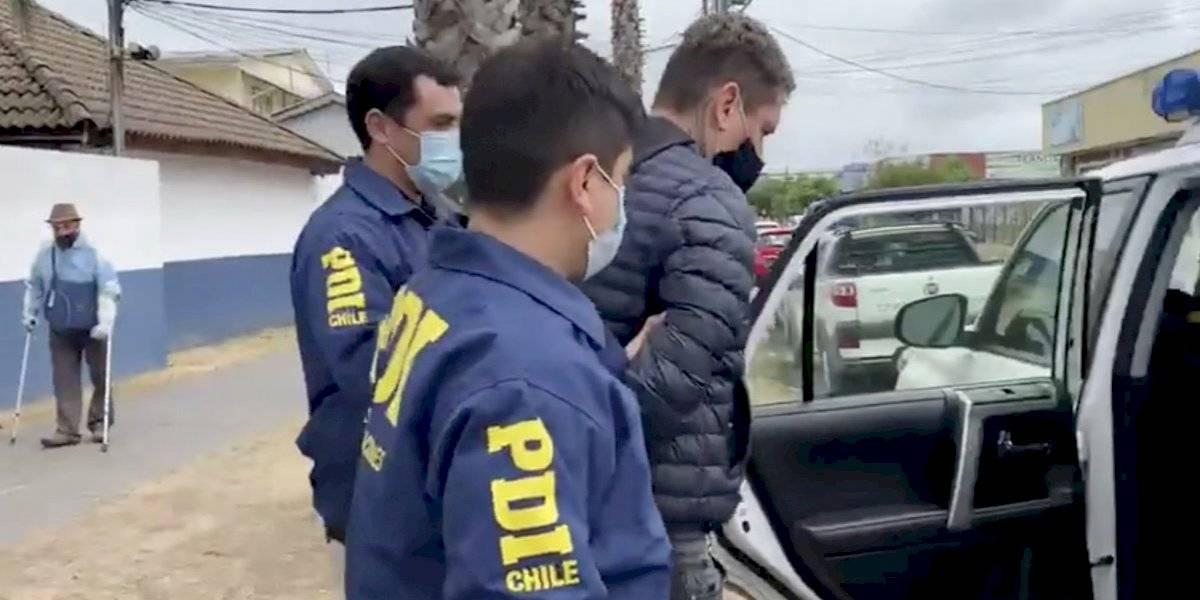 PDI detuvo a uno de los estafadores más buscados de Chile