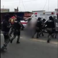 Hombre tomó como rehén a su pareja y la amenazó con un machete en Yahuachi, Guayas