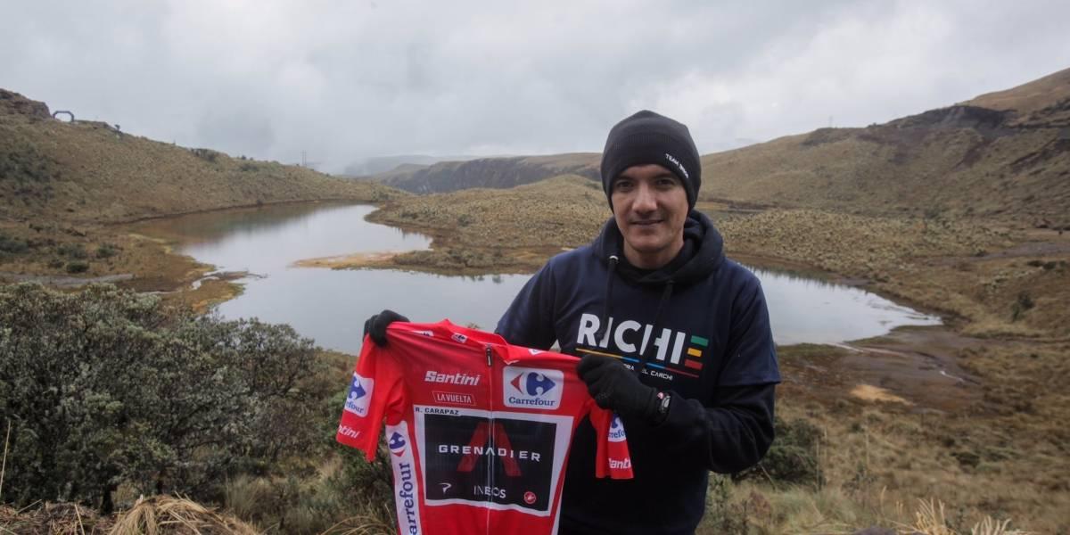 Richard Carapaz sorteará el jersey rojo de La Vuelta a España ¿Cómo participar?