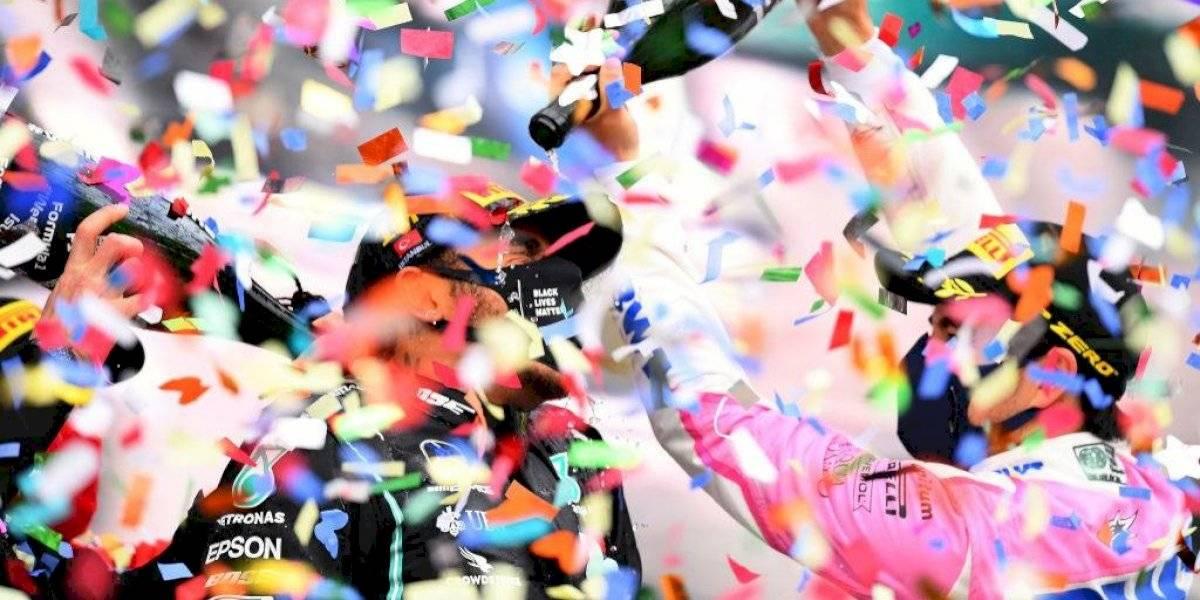 Lewis Hamilton conquista su séptimo título de F1; ¡Podio para Checo Pérez!