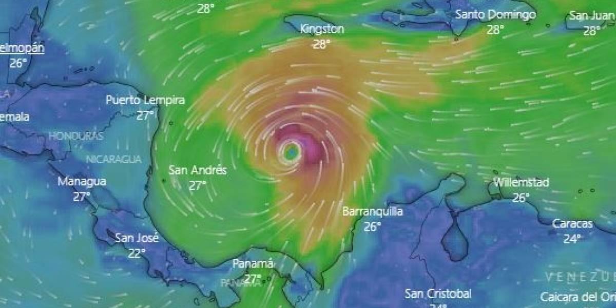 Siga el recorrido del huracán Iota, que amenaza con afectar a San Andrés y Providencia