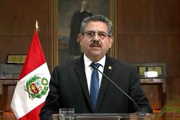Perú en crisis: Manuel Merino renuncia al cargo de presidente tras una semana de protestas