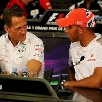 Lewis Hamilton se pone a la par de la leyenda Michael Schumacher
