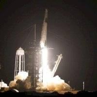El cohete Falcon 9 de SpaceX llevó a cuatro astronautas a la Estación Espacial Internacional