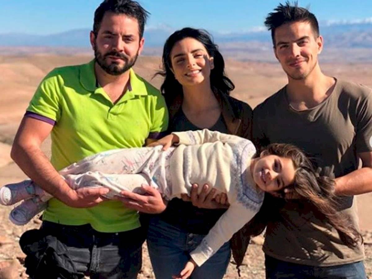 La única que lleva el apellido Derbez es la pequeña Aitana porque las leyes estadounidenses así lo permitireron.