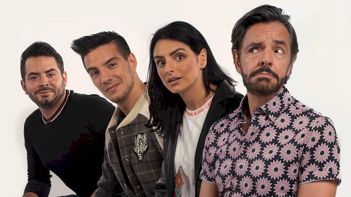 Eugenio junto a sus hijos ha conformado una verdadera dinastía en el mundo del espectáculo.
