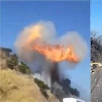 Suman 13 muertos por explosión de pipa en autopista Tepic-Guadalajara