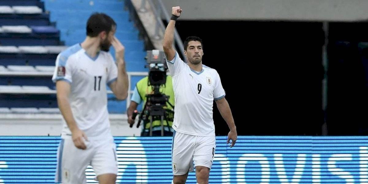 Luis Suárez dio positivo por covid y se perderá el partido de Uruguay con Brasil
