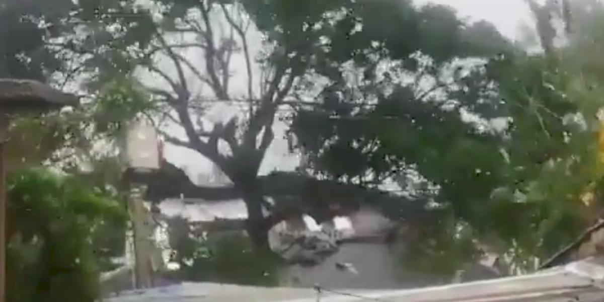 En imágenes: así luce San Andrés por el paso del huracán Iota