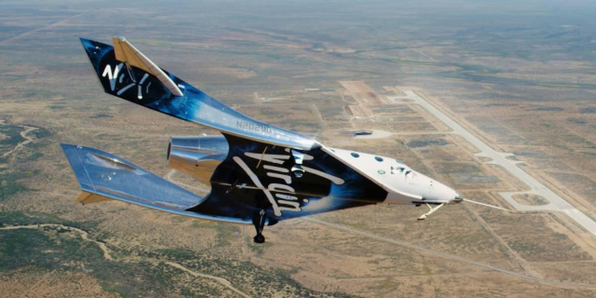 Virgin Galactic fracasa en vuelo de prueba y no llega al espacio por fallo del motor